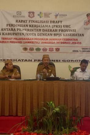 Dinkes Finalisasi Draft PKS Integrasi Jamkesta/Jamkesda dengan JKN-KIS